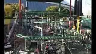 東京ドームシティアトラクションズ スピニングコースター舞姫 2011/01/3...