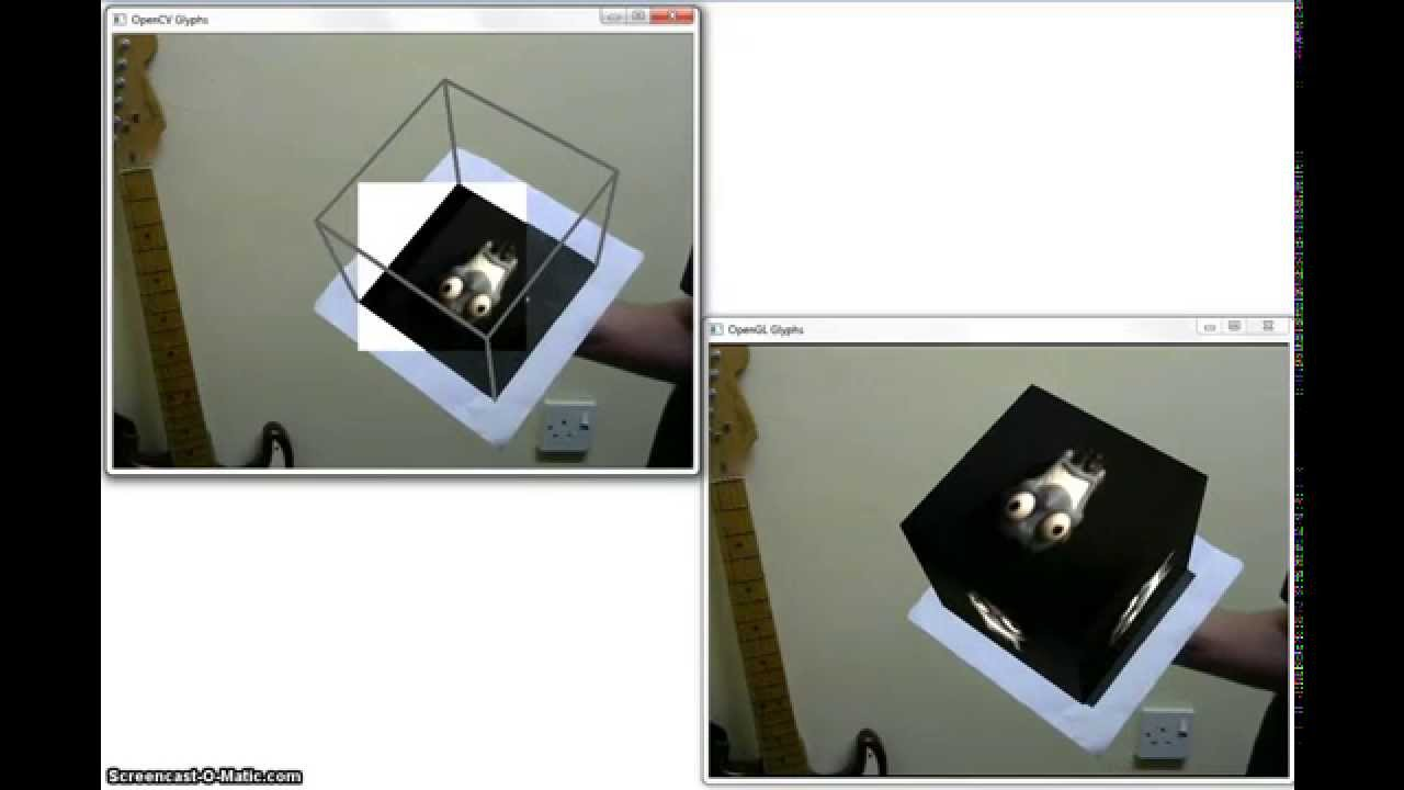 Camera pose using OpenCV and OpenGL | Electric Soup