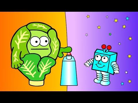 Mars TV cartoon - 'Sprout'er Space' AUDIO UPGRADE S3/3