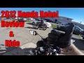 2012 Honda Rebel 250Cc 1st Ride & Review