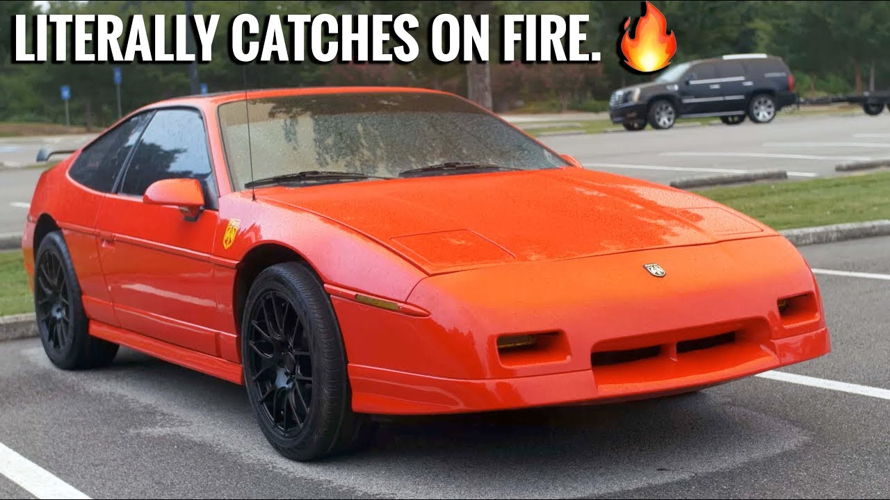 Why The Pontiac Fiero Gt Is So Terrible Yet So Great Youtube