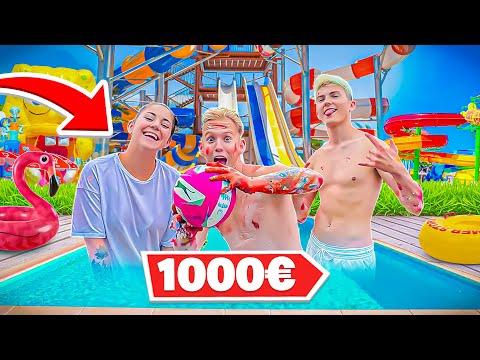 Download LE DERNIER QUI SORT DU PARC AQUATIQUE GAGNE 1000 EUROS ! AVEC JEANFILS !