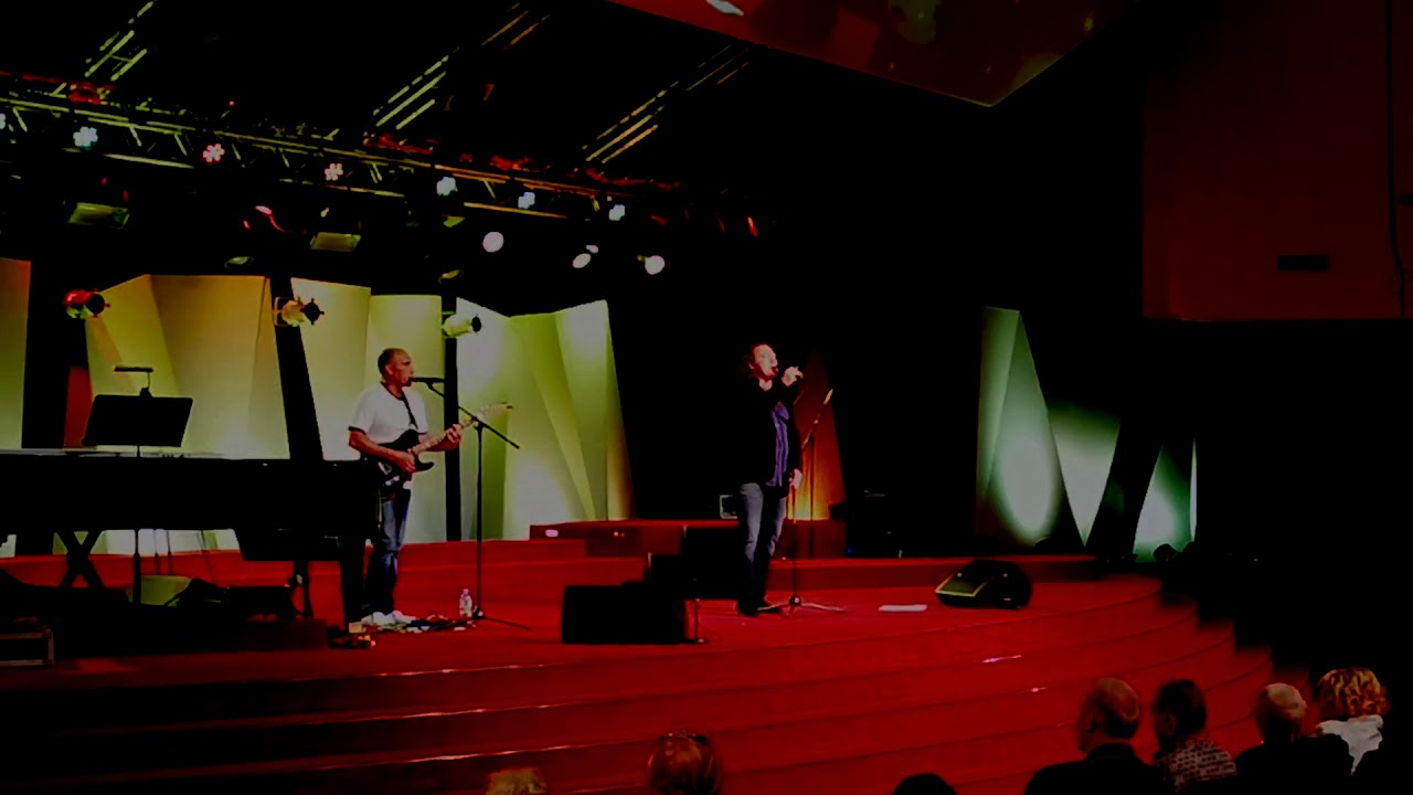 Вячеслав Быков на концерте
