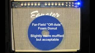 Guitar Speaker Cabinet Beam Blocker Shootout - Diy Foam High Frequency Diffuser