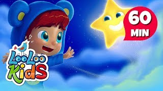 Twinkle, Twinkle, Little Star - THE BEST Songs for Children | LooLoo Kids thumbnail