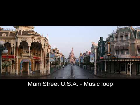 Main Street USA - Disneyland Paris -  Music loop