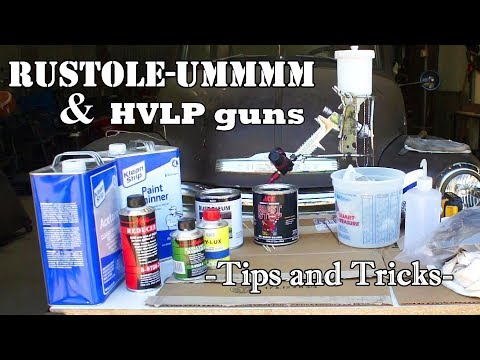 EASY: Spray rustoleum with an HVLP | Forget those aerosol cans!