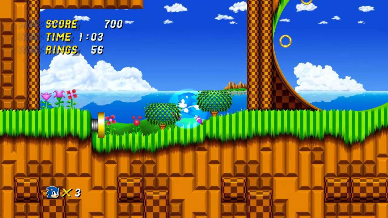 Sonic Generations Pt 16 Sonic 2 Hd Emerald Hill Zone Youtube