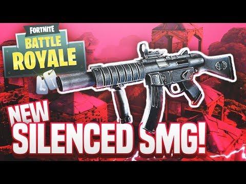SILENCED SMG! - Fortnite Battle Royale SMG Only Challenge
