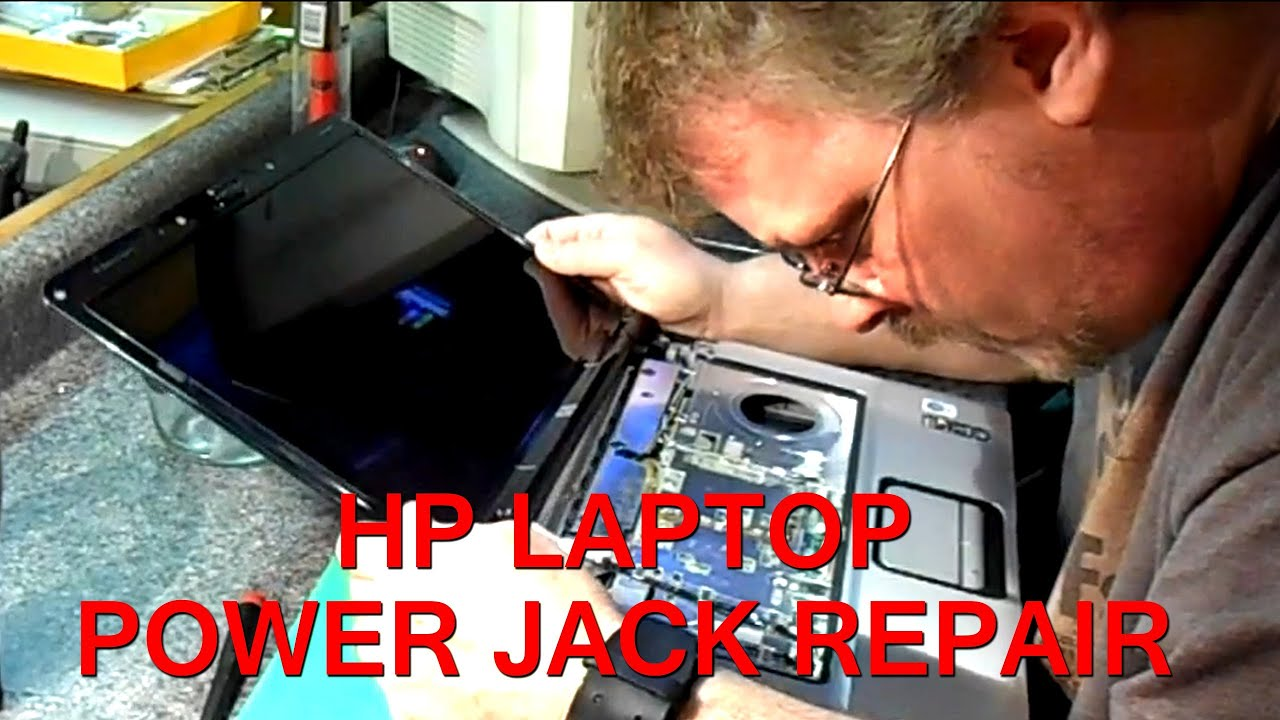 Hp Pavilion Dv6000 Series Laptop Power Jack Repair Youtube Wiring Diagram Testing The Charging Circuit On A