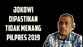 Jokowi Dipastikan Tidak Menang Pilpres 2019