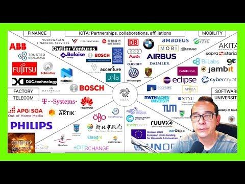 ¿Qué es IOTA?  MIOTA uno de los mejores proyectos blockchain y con futuro CriptoNewsTv