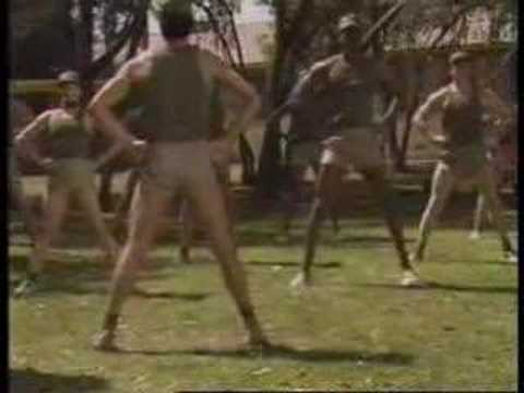 Los siete ejercicios de los marines