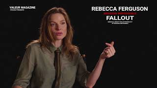 REBECCA FERGUSON INTERVIEW | MISSION IMPOSSIBLE 6 FALLOUT