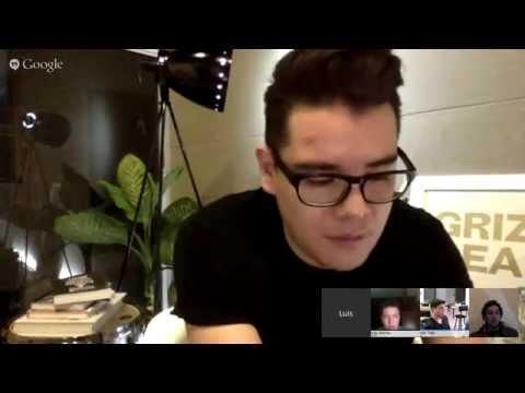 Diseño UX y UI en startups, CEO de bandtastic @lulomx (@fabiantx y @grillermo tmb) - Hacker Talk #25