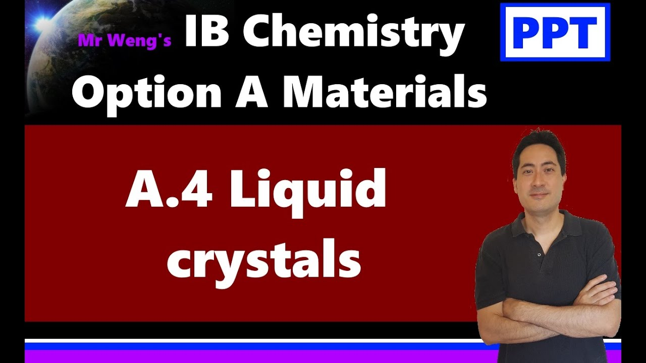 IB Chemistry Option A Materials - MrWeng's IB Chemistry