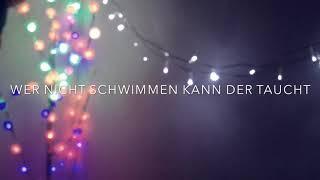 Wer Nicht Schwimmen Kann Der Taucht - Faber (Hutter's Cover ger)