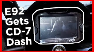homepage tile video photo for E92 Drift Car Gets CD-7 DASH INSTALLED!