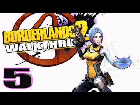 5 Borderlands 2 Walkthrough Gameplay Part 5 Best Minion Ever
