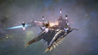 Space Marines (Dark Angels) vs Chaos! Rank 77 - Battlefleet Gothic Armada