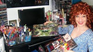 Обзор - маркеры, фломастеры, наборы для рисования, разные материалы