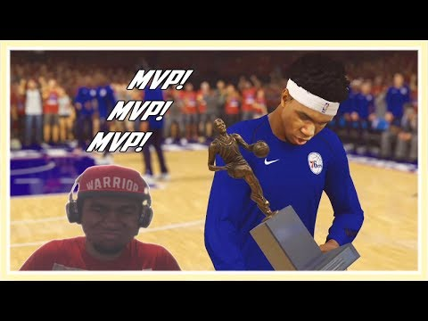 Les Playoffs pour Franco l ' MVP - NBA 2K18 Ma Carriere FR #34