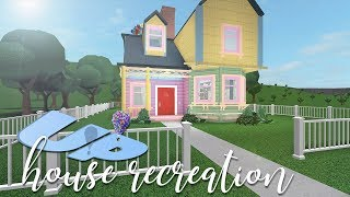 ROBLOX | Bloxburg: Up House Recreation 108k