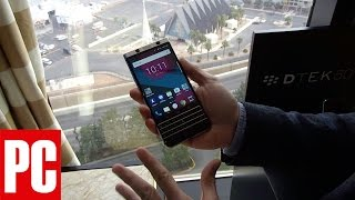 Hands On With the BlackBerry Mercury