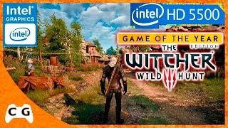 The Witcher 3 Gameplay Intel HD Graphics 5500 Será que Roda ? #240