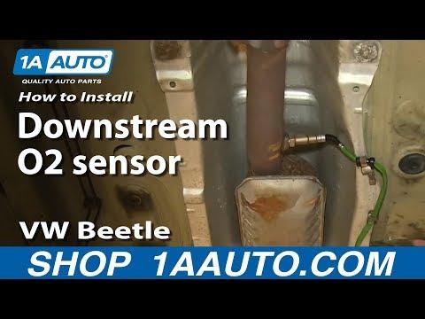 How to Replace O2 Oxygen Sensor 2001 Volkswagen Beetle