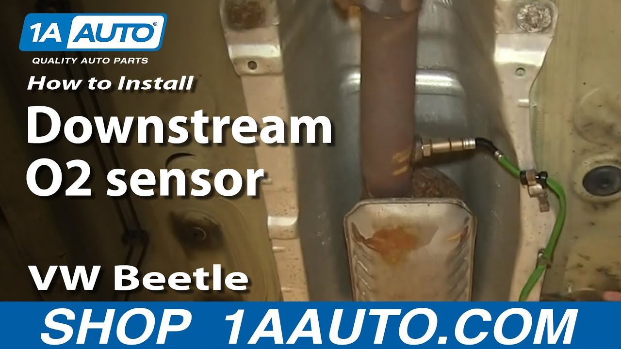 How To Install Replace Downstream O2 Sensor 1 8t 2001 Vw Beetle