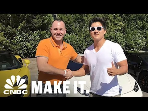 This Guy Bought A Lamborghini With Bitcoin | CNBC Make It.