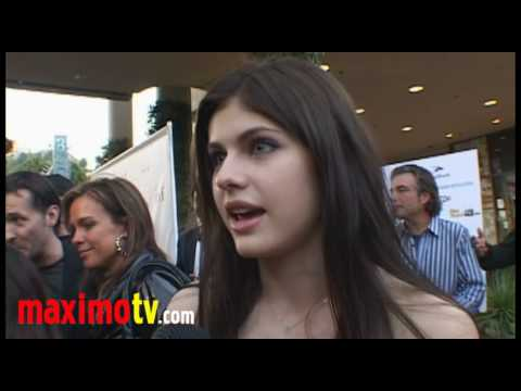 "Alexandra Daddario Interview at ""ITVFest"" Opening Night Gala July 29, 2010"