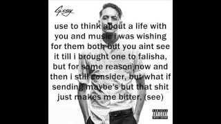 G-Eazy - Shoot Me Down (ft. Anthony Stewart) (Lyrics)