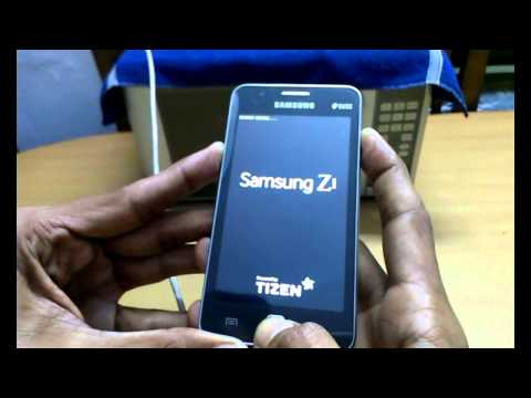 Pin Unlock/ Hard Reset: Samsung Tizen Z1 - YouTube