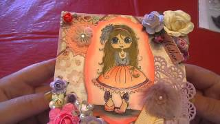 My Besties Youtube Dt Project Watercolor Easel Card