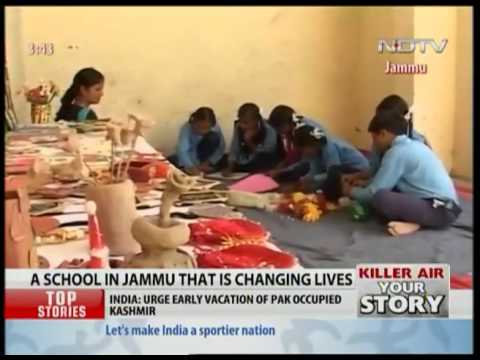 Mission to educate Slum children