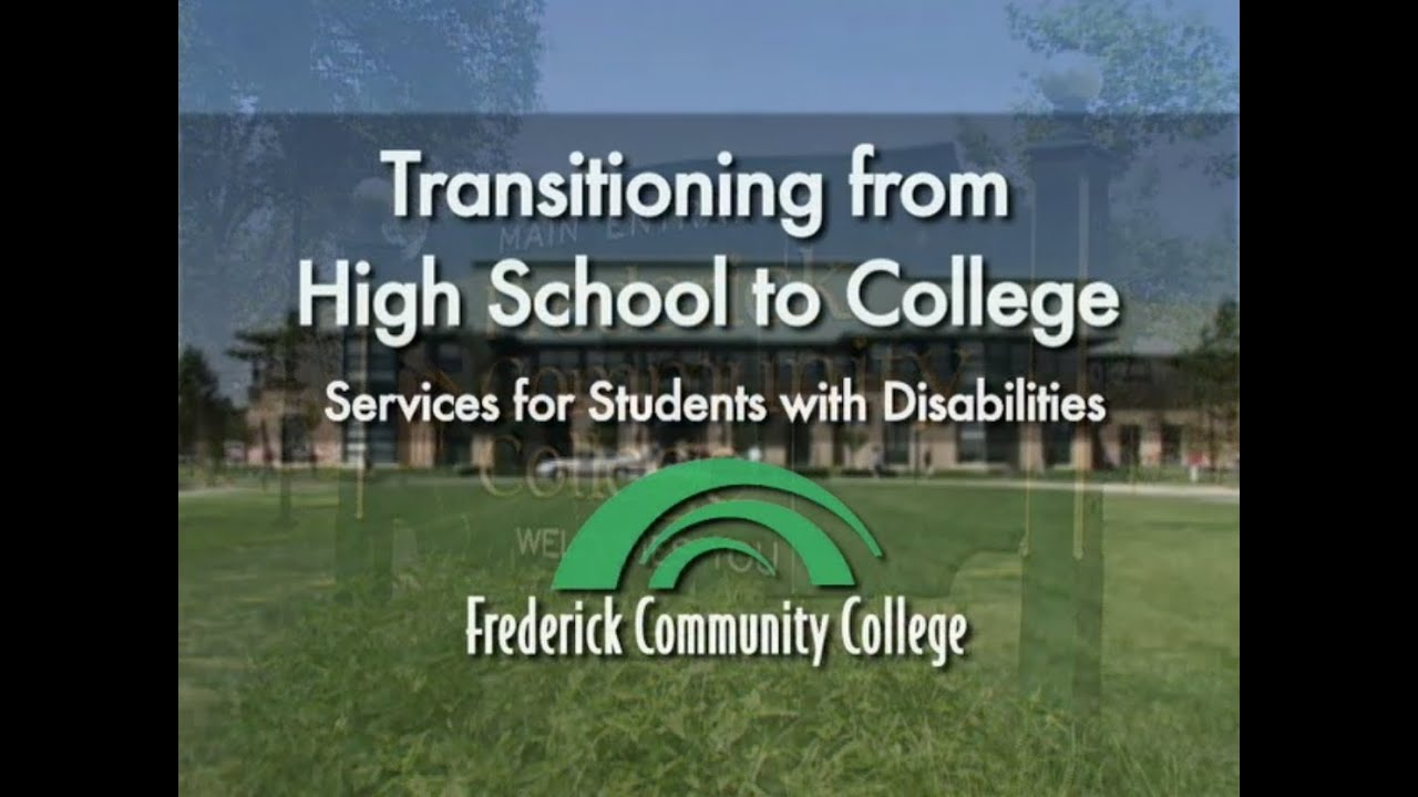 Services for Students with Disabilities - Frederick