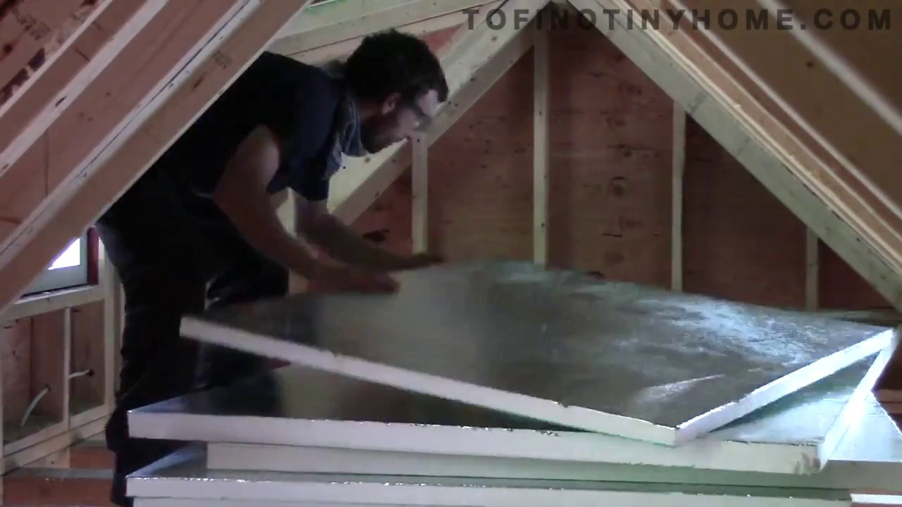 Installing rigid foam insulation youtube - Adding rigid insulation to exterior walls ...