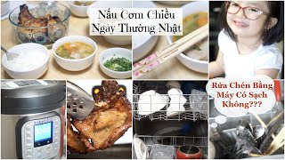 Nấu Cơm Chiều ♥ Canh Khoai Tây Cà Rốt Đậu Hà Lan & Sườn Nướng | mattalehang