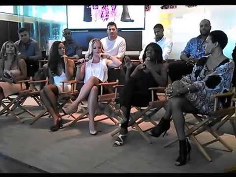 Tyler Perry's IF LOVING YOU IS WRONG press event with Tify Haddish  September 3, 2014