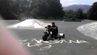 motorized drift trike 4speed manual fwd