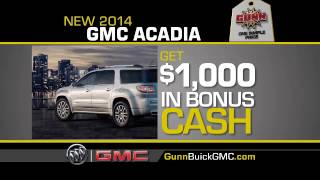 2013 Model Year Sale - Gunn Buick GMC