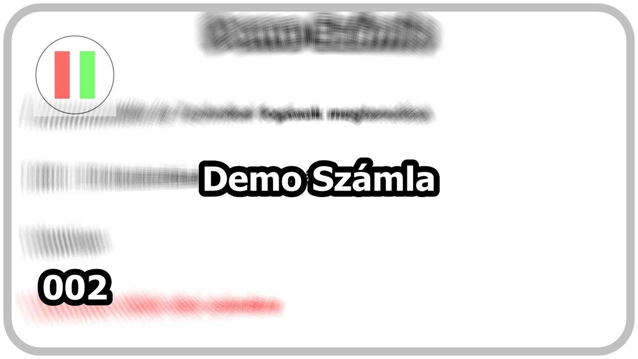 tőzsde demo számlával