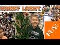 CHARLIE BROWN CHRISTMAS TREE@ HOBBY LOBBY!