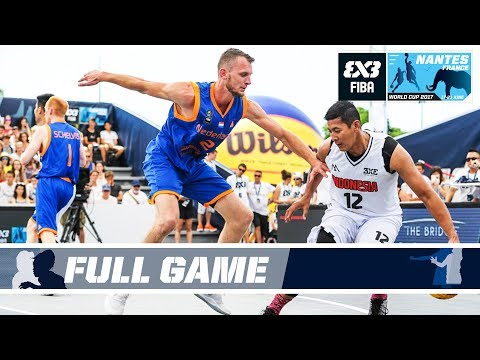 Netherlands puts on a clinic against Indonesia - Full Game - FIBA 3x3 World Cup 2017