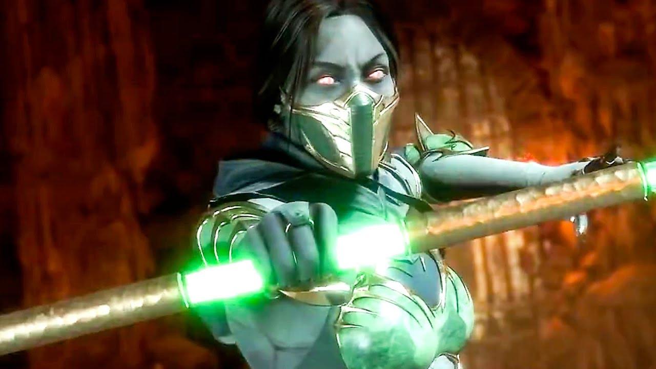 Mortal Kombat 11 Jade Reveal Trailer 2019 Youtube