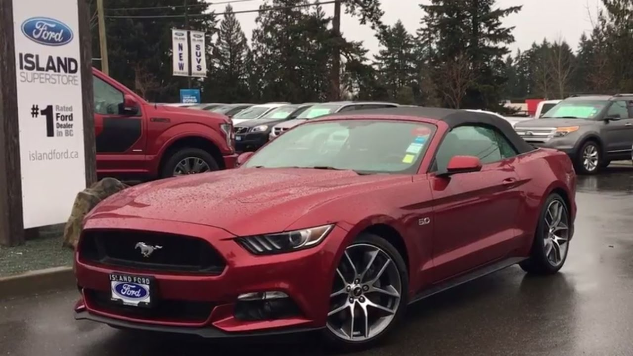 2016 Ford Mustang Gt Premium Convertible 20 Wheels Review Island