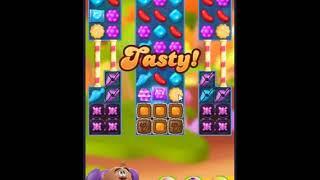 Candy Crush Friends Saga Level 398 - NO BOOSTERS 👩👧👦 | SKILLGAMING ✔️