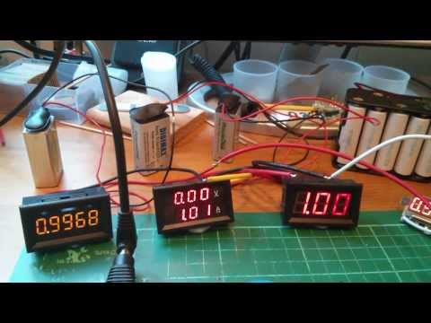 Testing a few Cheap LED Ammeters bought on eBay